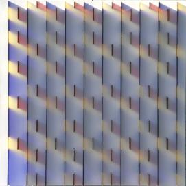 in blue 80 x 80 x 6cm 2007