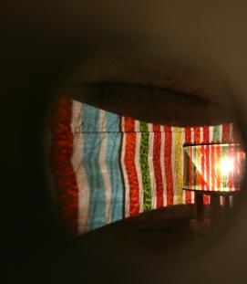 look-through-the-door, obrestad lighthouse 2009
